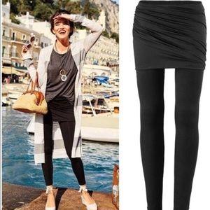 CAbi M'Legging Mesh Skirt Legging Combo Size XS